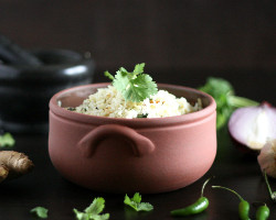 Rice With Ginger Or Garlic