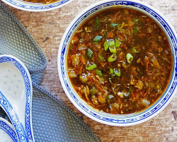 Vegetables Hot And Sour Soup