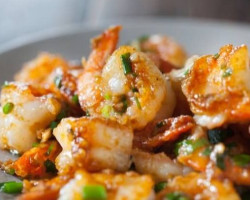 Shrimp With Ginger And Garlic